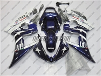 Yamaha YZF-R6 Deep Purple FIAT Fairings