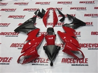 Kawasaki Ninja 650R Deep Red Fairings