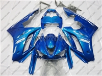 Triumph Daytona 675 Metallic Blue Fairings