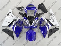 Yamaha YZF-R1 Blue/White Fairings