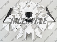 Yamaha YZF-600R White Fairings