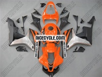 Honda CBR 600RR Orange/Black Fairings