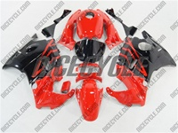 Red/Black Honda CBR 600 F2 Fairings