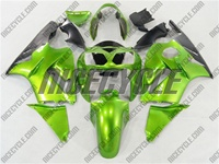 Kawasaki ZX12R Mean Green Fairings