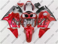 Kawasaki ZX12R Metallic Red Fairings