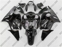 Kawasaki ZX12R Gloss Black Fairings