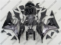 Honda CBR 600RR Charcoal Silver Fairings