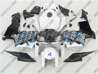 Honda CBR 600RR Graffiti Blue Fairings