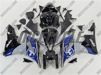 Honda CBR 600RR Two Brothers Blue Fairings