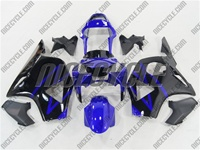 Honda CBR 954RR Black/Blue Fairings