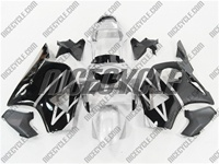 Honda CBR 954RR Silver/Black Fairings