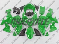 Kawasaki ZX10R Green Fairings