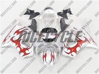 Honda CBR 954RR Red Tribal Fairings