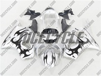 Honda CBR 954RR Black Tribal Fairings