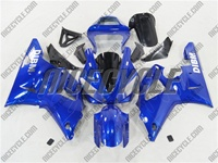 Yamaha YZF-R1 Ghost Flame Blue Fairings