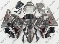Yamaha YZF-R6 Wild Tribal Silver Fairings