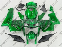 Honda CBR 600RR Candy Green Fairings