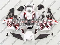 Honda CBR 600RR Crazy Red Flame Fairings