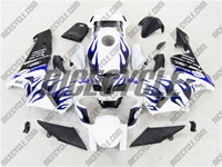 Honda CBR 600RR Crazy Blue Flame Fairings