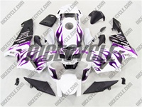 Honda CBR 600RR Crazy Purple Flame Fairings