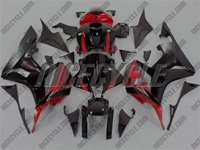 Honda CBR 600RR OEM Style Red/Black Fairings