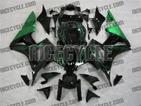 Honda CBR 600RR Metallic Green Fire Fairings