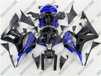 Blue/Black Honda CBR 600RR Fairings
