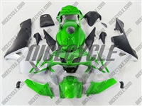 Honda CBR 600RR Deep Green/Silver Fairings
