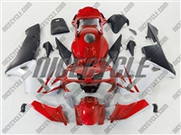 Honda CBR 600RR Deep Red/Silver Fairings