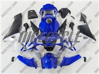 Deep Blue/Silver Honda CBR 600RR Fairings
