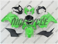 Ninja 250R Electric Green Fairings