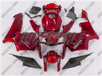 Honda CBR 600RR Candy Red Fairings