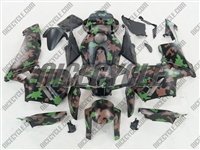Honda CBR 600RR Camo Green Fairings