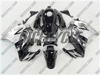 Silver/Black Honda CBR 600 F2 Fairings