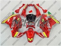 Honda CBR 600 F2 Movistar Red Fairings