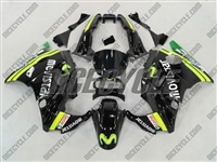 Black Movistar Honda CBR 600 F2 Fairings