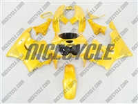 Bright Yellow Honda CBR 900RR Fairings