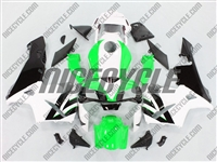 Honda CBR 600RR Bright Green/White Fairings