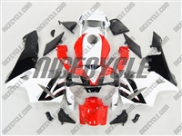Honda CBR 600RR Bright Red/White Fairings