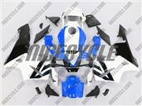 Honda CBR 600RR Bright Blue/White Fairings