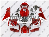 Honda CBR 600RR Metallic Red Fairings