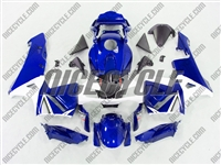 Honda CBR 600RR Metallic Ice Blue Fairings