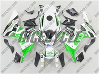 Honda CBR 1000RR GIVI Green Fairings