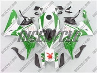 Honda CBR 1000RR Playboy Green Fairings