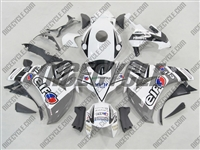 Honda CBR 1000RR ELF Silver Fairings
