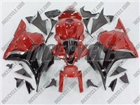 Honda CBR 600RR Red/Black Fairings