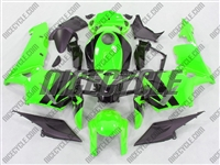 Honda CBR 600RR Neon Green Fairings