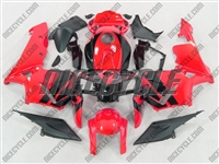 Honda CBR 600RR Neon Red Fairings