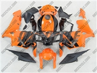 Honda CBR 600RR Neon Orange Fairings