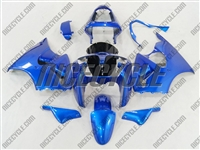 Kawasaki ZX6R Plasma Blue Fairings